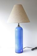 選べるシェード/北欧照明/Holmegaard(ホルムガード)/ヴィンテージテーブルランプ/ブルー
