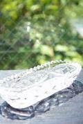 北欧ヴィンテージのガラスボウル