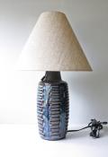 北欧照明/Soholm(スーホルム)/テーブルランプ/ブラウン×ブルー