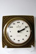 ドイツ製/ヴィンテージ掛け時計/Junghans社/モスグリーン