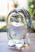 北欧ヴィンテージ/スウェーデン/BERGDALA/ガラスのオブジェ/森の妖精トロル(特大)