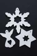 北欧デザイン/Finnsdottir/クリスマスオーナメント/3個セット/No4