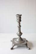 ブロカント/真鍮/ヴィンテージキャンドルホルダー/シルバーカラー