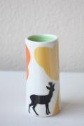 北欧デザイン/Anna Carin Dahl /花瓶(小)/バンビ