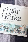 北欧ヴィンテージ本/Vi går i Kirke/1967年