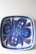 北欧ヴィンテージ/Royal Copenhagen(ロイヤルコペンハーゲン)/テネラ/角皿(26.5×26.5cm)