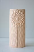 北欧デザイン/Finnsdottir/花瓶/Pipanella楕円(大)/サーモンピンク