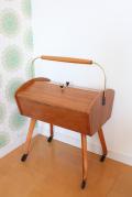 【送料無料】ドイツヴィンテージ家具/ミッドセンチュリー/お裁縫箱