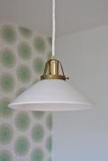 北欧照明/Soholm(スーホルム)/ヴィンテージペンダントランプ/白色(Φ22cm)