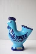 北欧ヴィンテージ/スウェーデン製/Guld kroken/鳥のオブジェ/ブルー