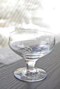 北欧ヴィンテージ/Holmegaard/北欧ヴィンテージ/ガラスの足つきボウル