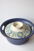 北欧ヴィンテージ/Figgjo(フィッギオ)turi‐design/Vulcanus/陶器の両手鍋
