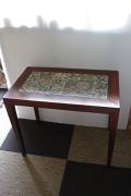 【送料無料】北欧ヴィンテージ/Royal Copenhagen/バッカ/タイルトップテーブル/35.5×58.5cm