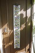 北欧ヴィンテージ/刺繍の壁掛け/フラワーモチーフ/SOLD OUT