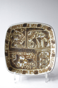北欧ヴィンテージ/Royal Copenhagen/バッカ/角皿(17×17cm)