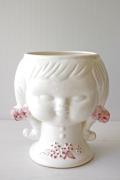 大サイズ!スウェーデン/オブジェ&花瓶/三つ編みの女の子