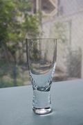 北欧ヴィンテージ/Holmegaard(ホルムガード)/白ワイングラス/Canada/Φ5.5cm、高さ13.5cm
