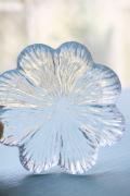 北欧ヴィンテージ/Holmegaard(ホルムガード)/ガラスの小皿/クローバー