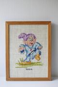 北欧刺繍/ディズニー/白雪姫と7人の小人