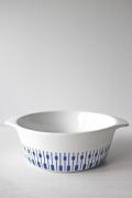 北欧ヴィンテージ/Lyngby Porcelain/タンジェント/耳付き深皿