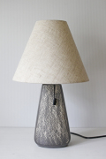 北欧照明/ヴィンテージテーブルランプ/ライトグレー