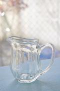 北欧ヴィンテージ/ガラスのクリーマー