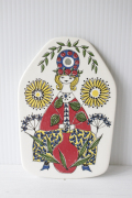 北欧ヴィンテージ/Figgjo(フィッギオ)turi‐design/チーズボード/お花屋さん
