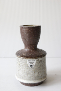 北欧ヴィンテージ/Michael Andersen&Son社/花瓶/ミルクホワイト(小)