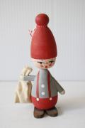 北欧ヴィンテージ/木製のお人形/ニッセ
