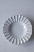 北欧ヴィンテージ/Lyngby Porcelain/ピュアホワイト/豆皿
