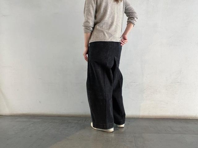 umezawa miho corduroy cocoon waide pants =tall=