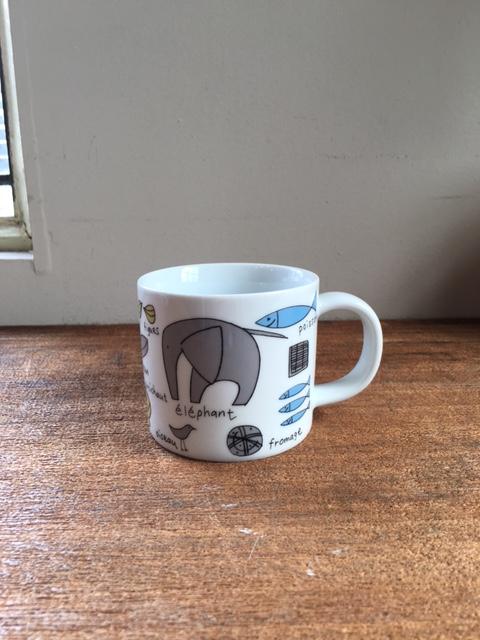 CLASKAクラスカDo堀井和子さんのゾウのマグカップ