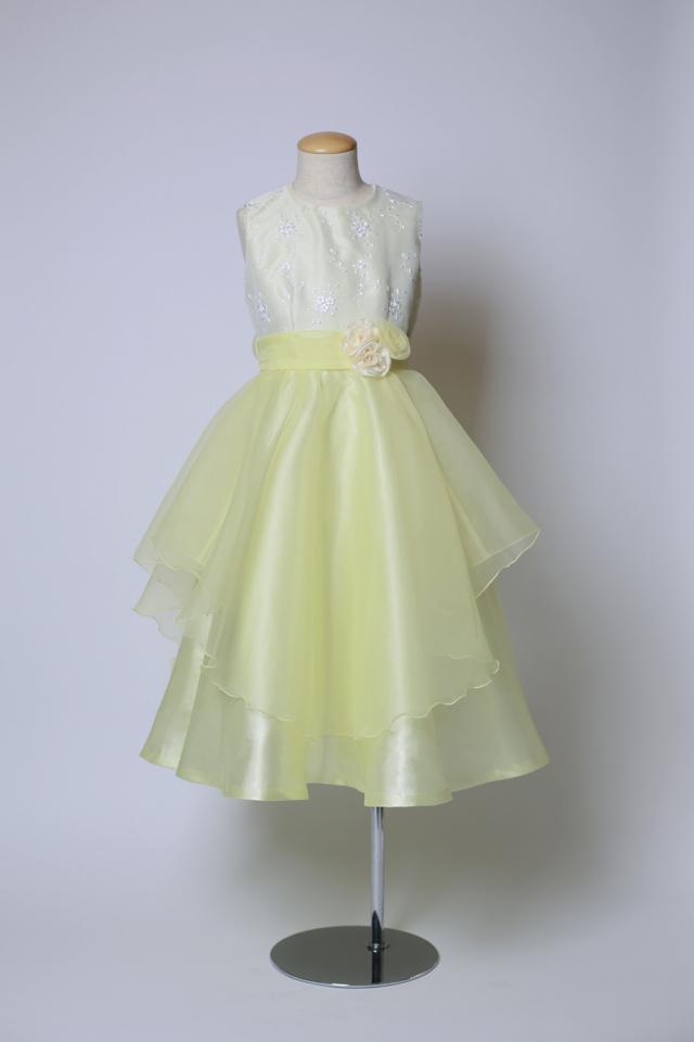 子供ドレス シトリン 100cm-110cm