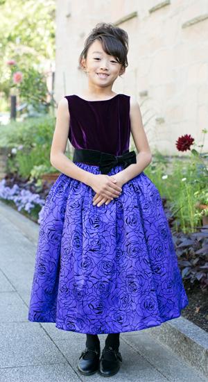 子供ドレス エレナ 120cm 日本製子供ドレス