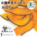 《×ネコポス不可×》【純国産】有機野菜チップス かぼちゃ(犬のおやつ)