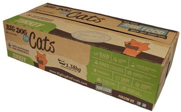 ビッグドッグ猫用冷凍生食(七面鳥)