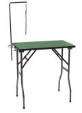【天板の色・フレームの色が選べます】【グルーミングテーブル】折り畳み式 スタンダード (万力式アーム棒セット S ナイロンハンドラー付)