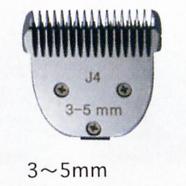 【ペット用バリカン】F.I.A.スピード用替刃3mm-5mm