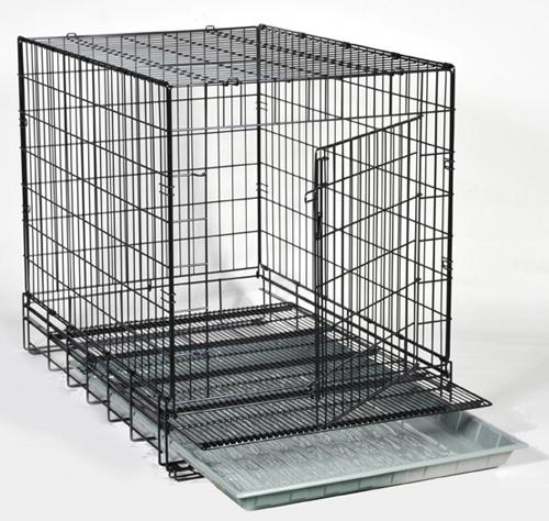 【ペット用ゲージ】【犬用ハウス】【スチール製】プロケージ SSD(ショートサイドドア) ■Sサイズ