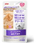 【お取寄せ】【猫用】【アイシア】【フード】【パウチ】【ウエット】MiawMiawクリーミーパウチ ほたて風味40g