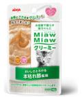 【お取寄せ】【猫用】【アイシア】【フード】【パウチ】【ウエット】MiawMiawクリーミーパウチ 本枯れ節風味40g