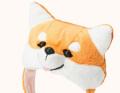 【メール便対応送料164円】柴犬被り帽子S【KWA008-S】お正月お祝いパーティー仮装コスプレコスチューム帽子被り物