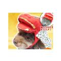 【メール便対応送料164円】獅子舞被り帽子S【KWA006-S】お正月お祝いパーティー仮装コスプレコスチューム帽子被り物