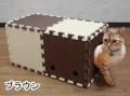 【猫用】【おもちゃ】【トンネル】猫トンネル ジョイント式 30cm角x10枚セット