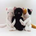 【犬用】【おもちゃ】【音】<br>大きめおもちゃ キュートイ ネコ