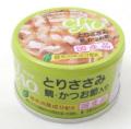 【新商品】【猫用】【ウエットフード】【いなば】【缶詰】【国産】CIAOとりささみ・鯛・かつお節入り85g