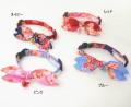 【新商品】【メール便対応】猫用首輪和柄リボン