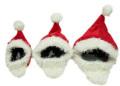 【新商品】iDog&iCatオリジナル変身かぶりものスヌード立派なおひげのサンタさんS/M/L【犬猫用クリスマス帽子】