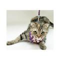 【新商品】猫用リード付スーパー胴輪矢がすり2号【猫用ハーネス】【和柄】