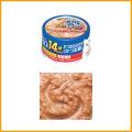 【猫用】【いなば】【缶詰】CIAO チャオ 年齢別 14歳からのかつお&おかか(かつお節)75g
